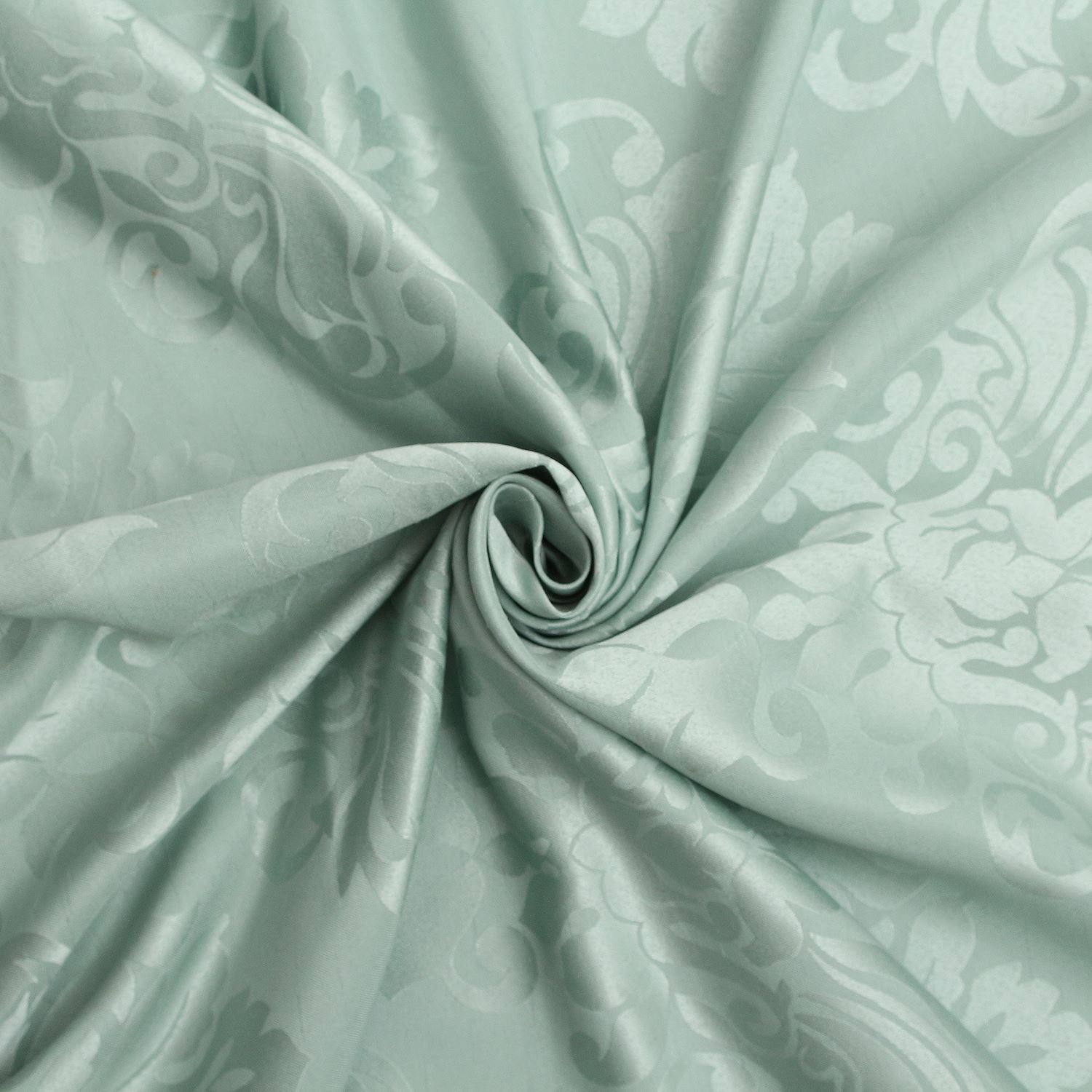FLORAL-DAMASK-FAUX-SILK-JACQUARD-CURTAIN-UPHOLSTERY-FABRIC-MATERIAL-12-COLOURS thumbnail 34