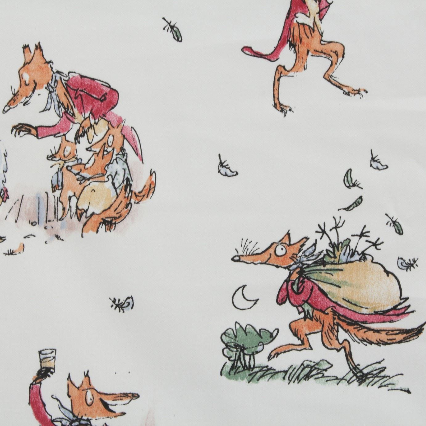 Roald Dahl Quentin Blake Art Story Quilting Curtain Craft