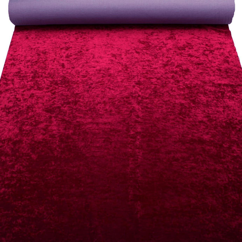 thumbnail 13 - Marble Velour Crushed Velvet Plush Soft Furnishing Curtain Cushion Fabric
