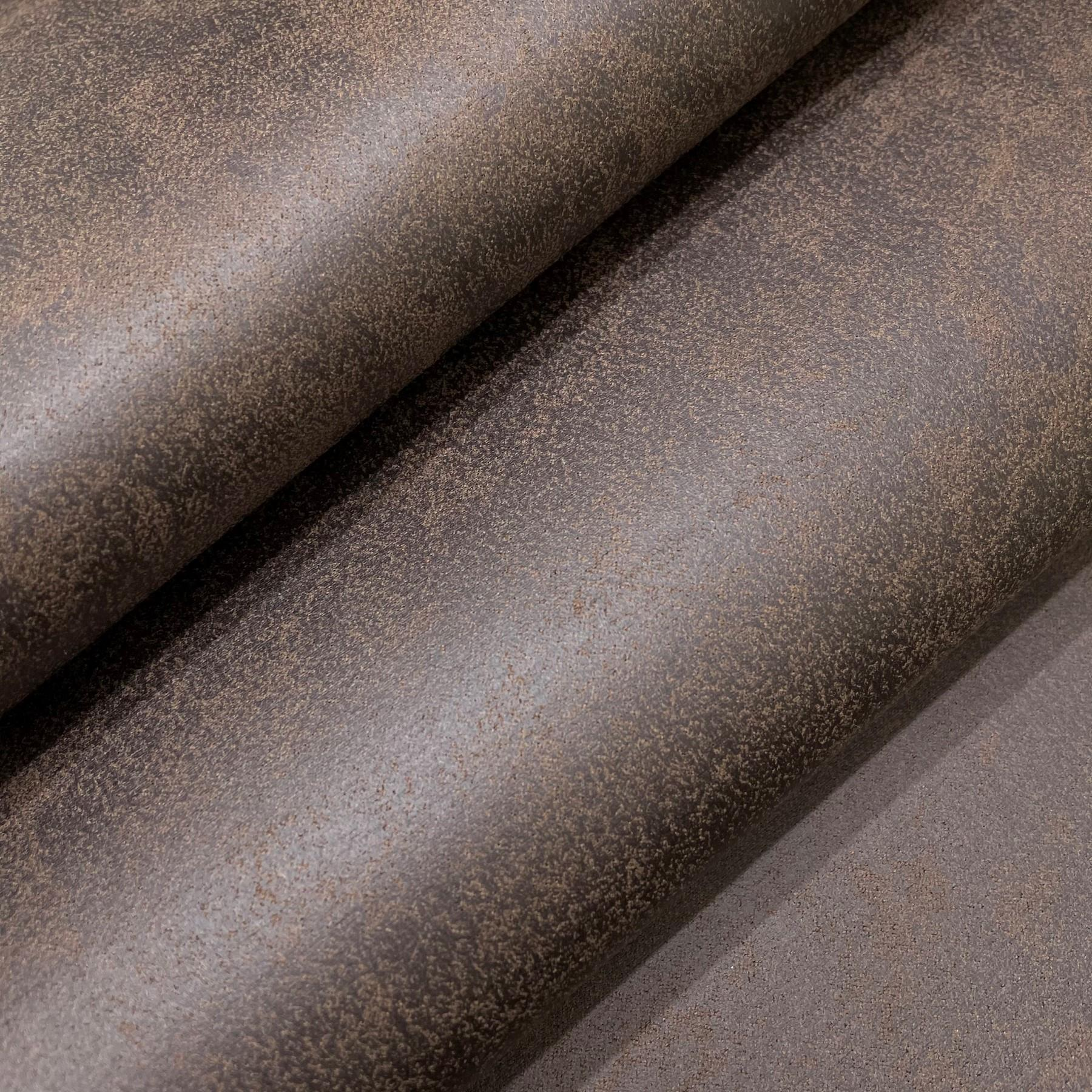 thumbnail 30 - AGED BROWN DISTRESSED ANTIQUED SUEDE FAUX LEATHER LEATHERETTE UPHOLSTERY FABRIC