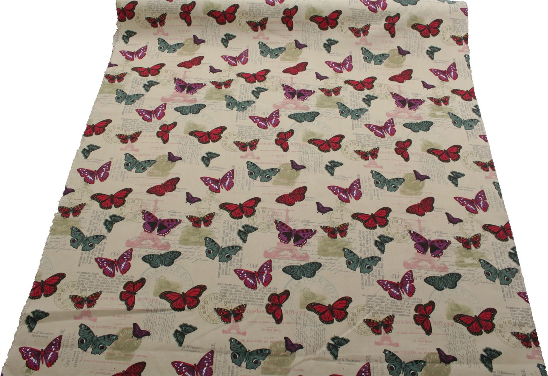 thumbnail 65 - 100% Heavy Cotton Panama Printed Childrens Curtain Cushion Upholstery Fabric