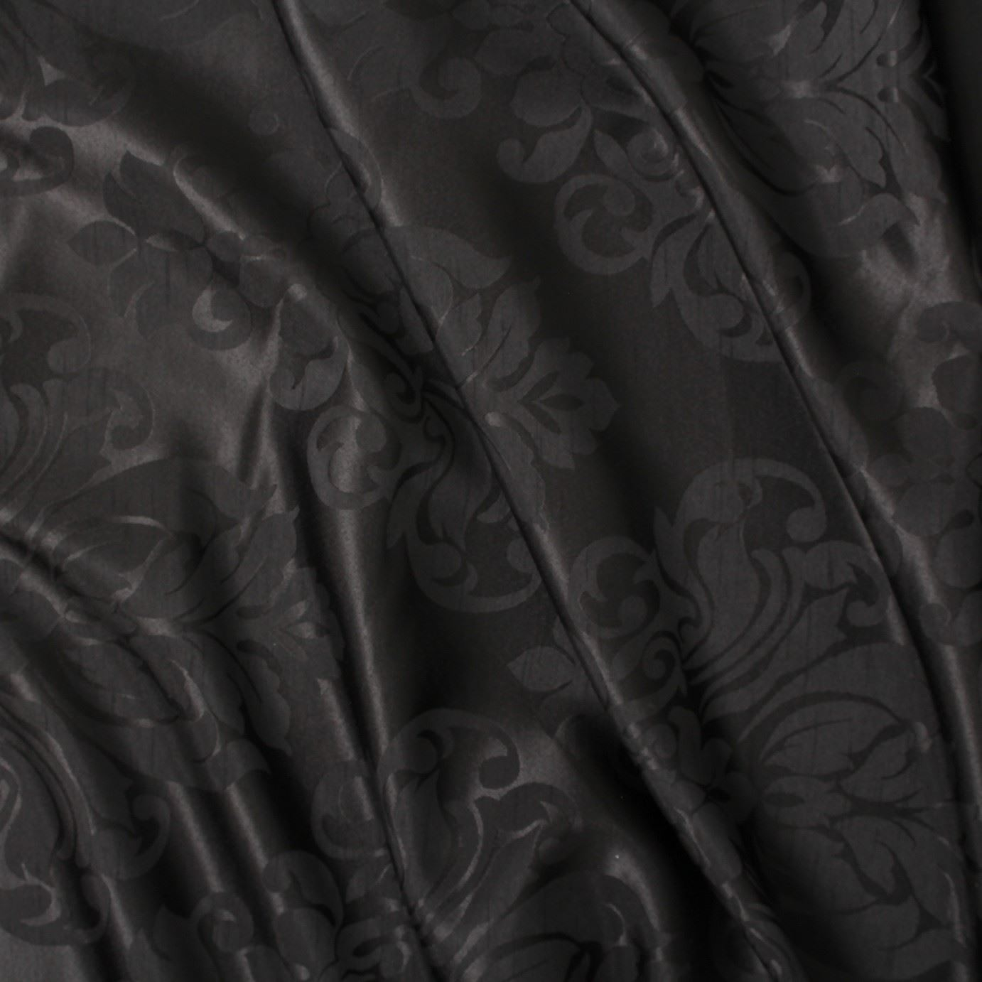 FLORAL-DAMASK-FAUX-SILK-JACQUARD-CURTAIN-UPHOLSTERY-FABRIC-MATERIAL-12-COLOURS thumbnail 3