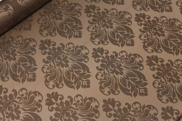 FLORAL-DAMASK-FAUX-SILK-JACQUARD-CURTAIN-UPHOLSTERY-FABRIC-MATERIAL-12-COLOURS thumbnail 9