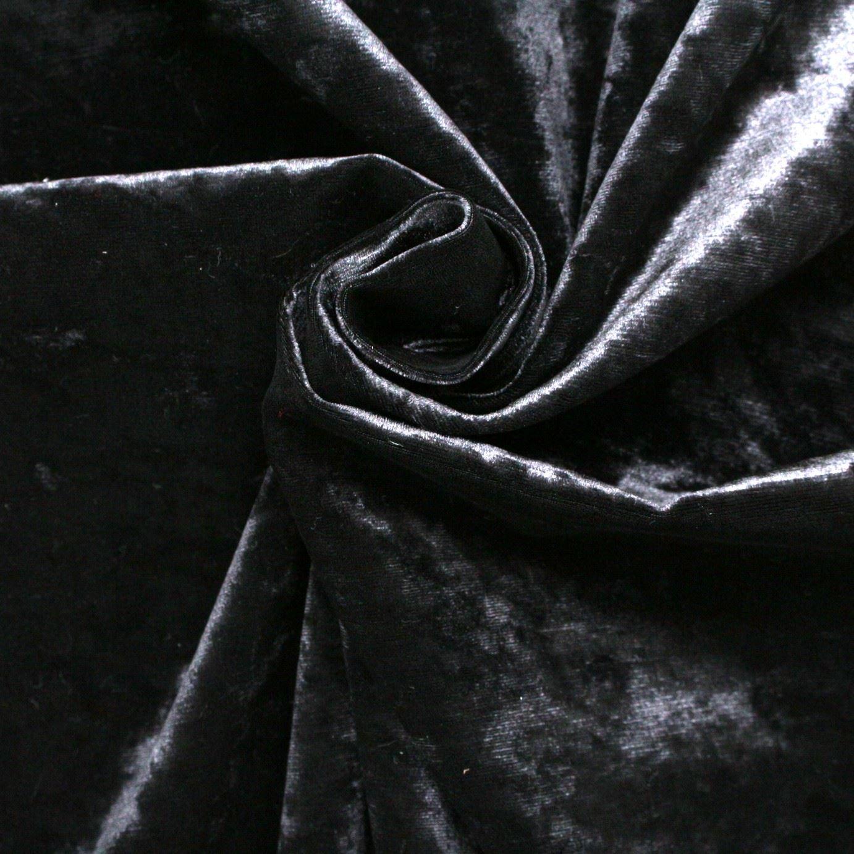 UPHOLSTERY fabric sold//PER METRE// SOFT VELOUR CURTAIN IVORY CRUSHED VELVET