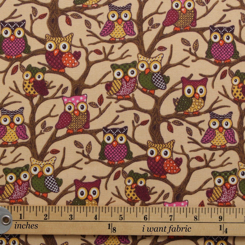 thumbnail 57 - 100% Heavy Cotton Panama Printed Childrens Curtain Cushion Upholstery Fabric
