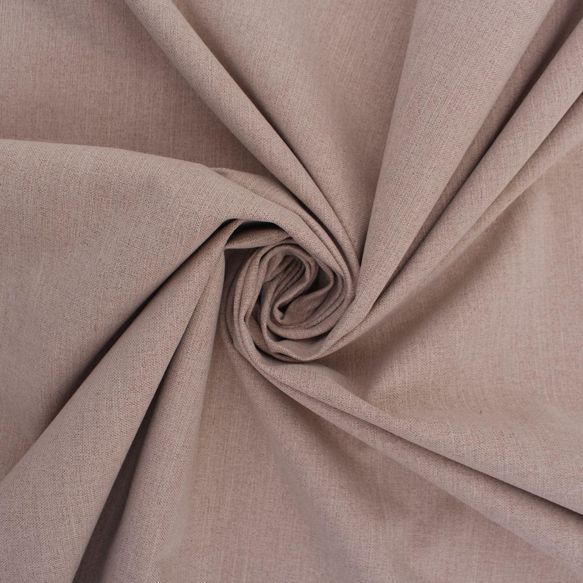 Plain Beige Couleur poly coton d/'ameublement rideau ameublement Tissu Textile