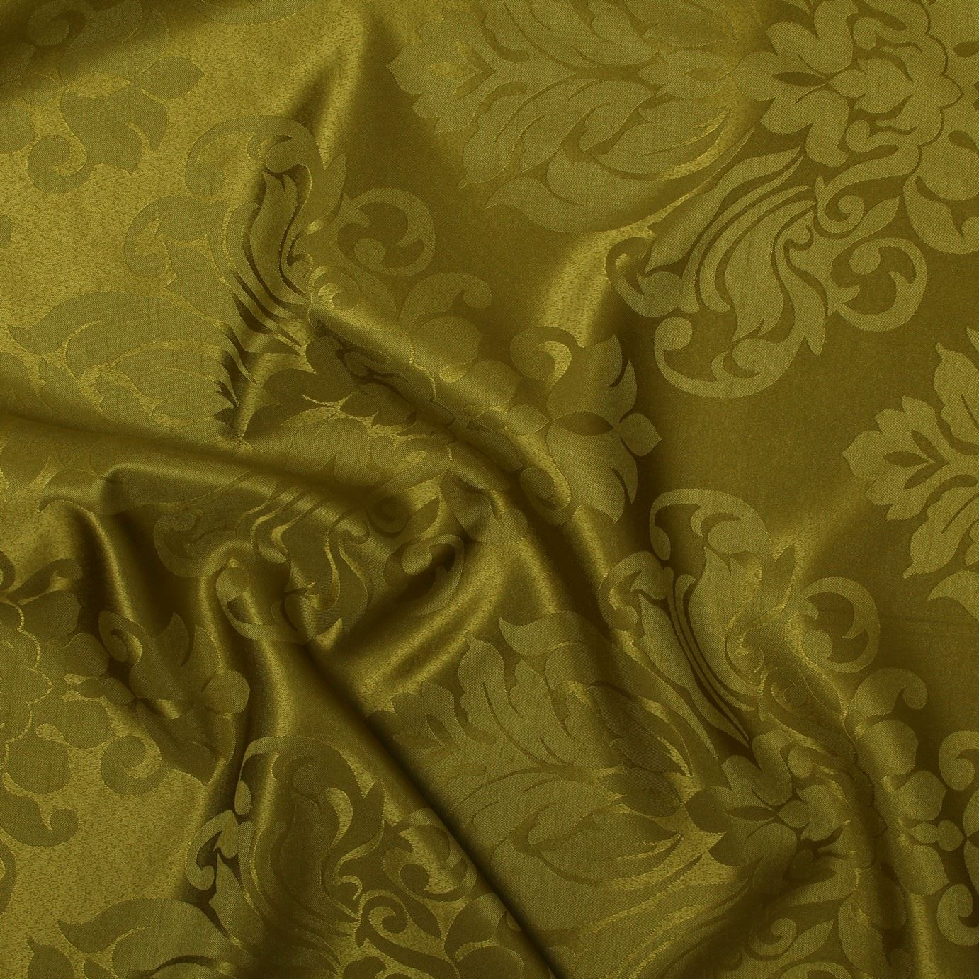 FLORAL-DAMASK-FAUX-SILK-JACQUARD-CURTAIN-UPHOLSTERY-FABRIC-MATERIAL-12-COLOURS thumbnail 16