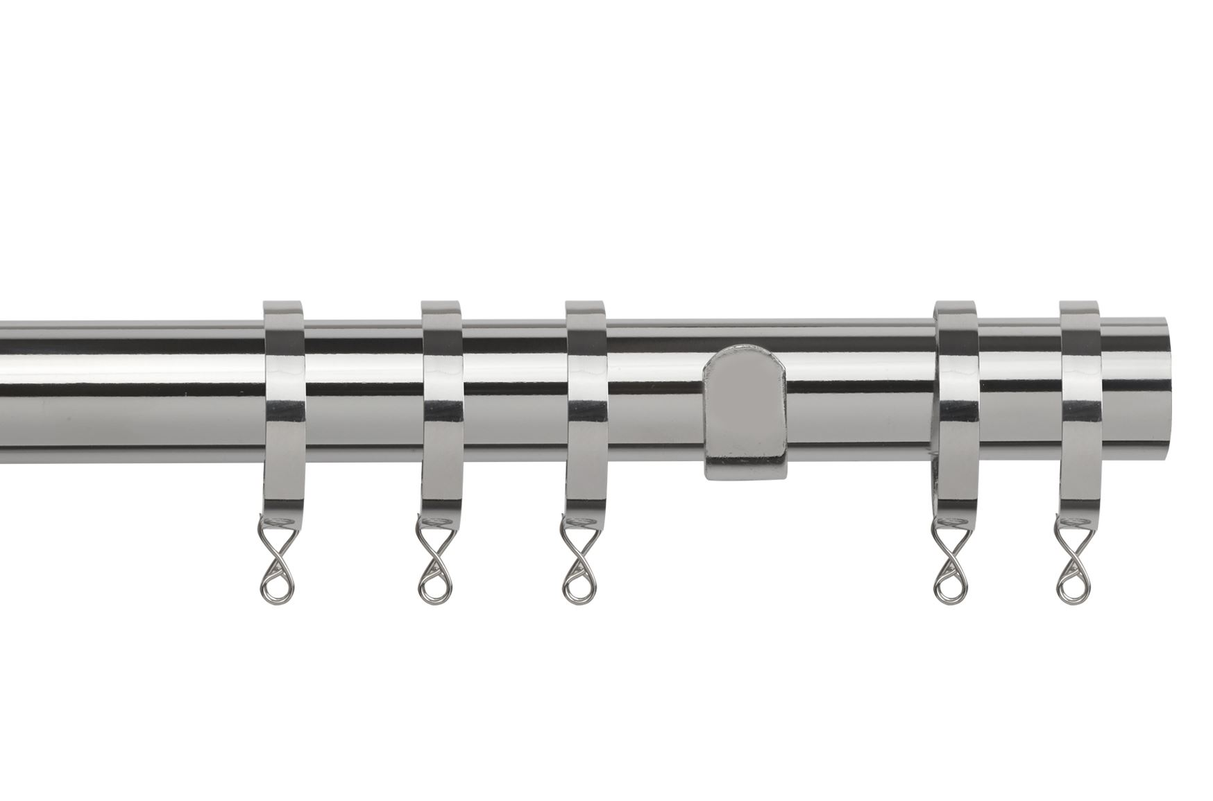 Curtain Rail Apart Fixed Pole Window Rod Adjustable Fittings Fittings Fittings 28mm Home Decor 1c2f9c