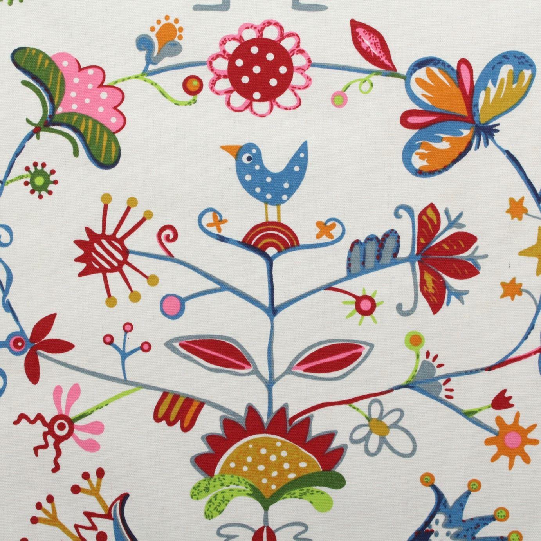 thumbnail 30 - 100% Heavy Cotton Panama Printed Childrens Curtain Cushion Upholstery Fabric