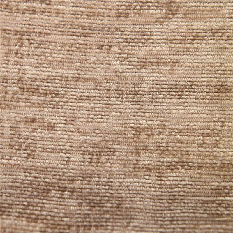 DESIGNER LUXURY SOFT PLAIN SOLID HEAVY WEIGHT UPHOLSTERY CRUSHED - Chenille upholstery fabric