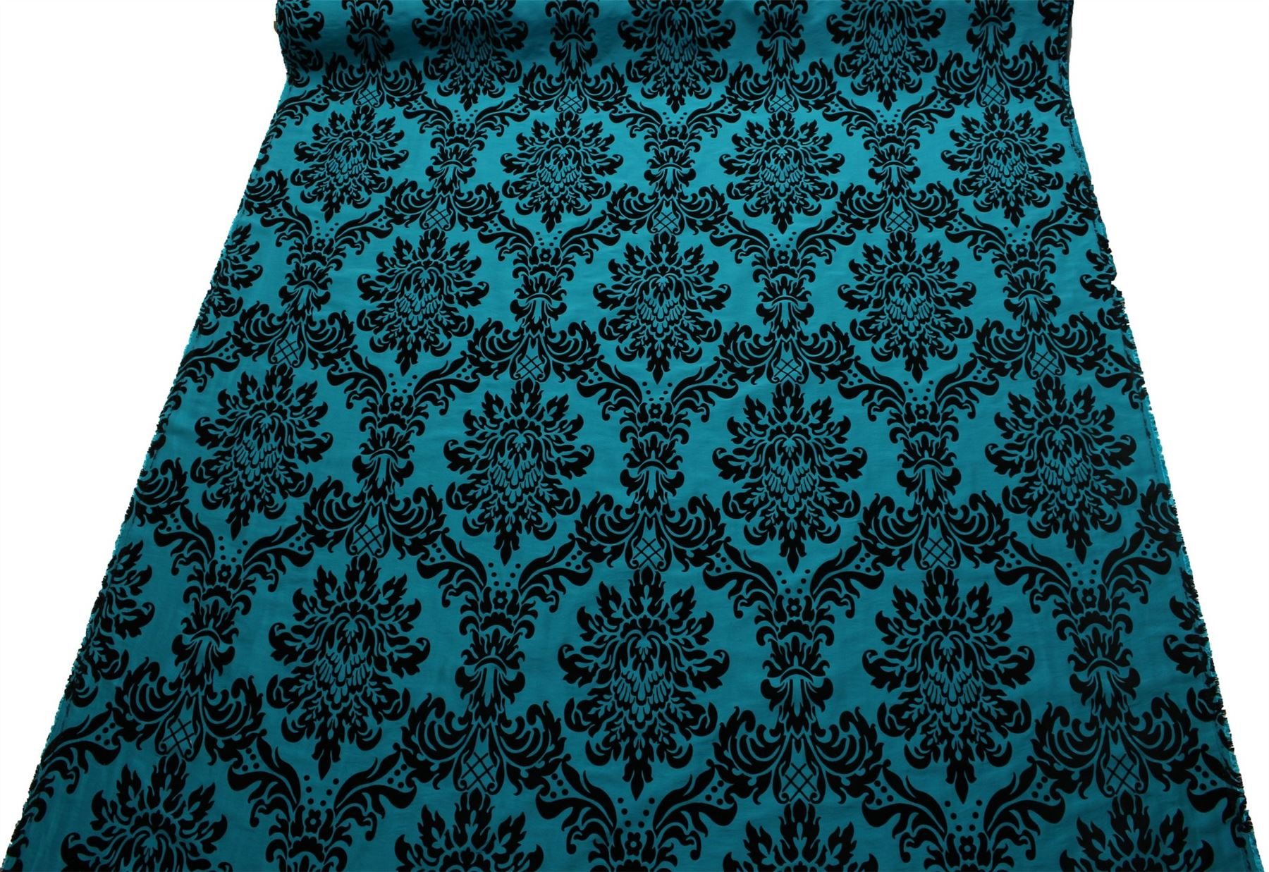Victoria-Floral-Tafetan-Damasco-Terciopelo-Conjunto-Tapiceria-Cortinas-Tejido miniatura 42