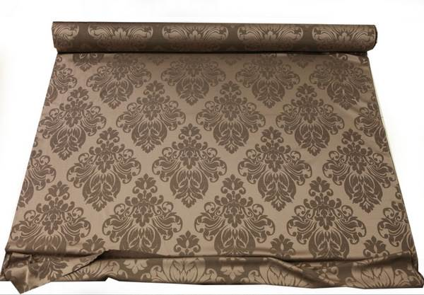FLORAL-DAMASK-FAUX-SILK-JACQUARD-CURTAIN-UPHOLSTERY-FABRIC-MATERIAL-12-COLOURS thumbnail 10