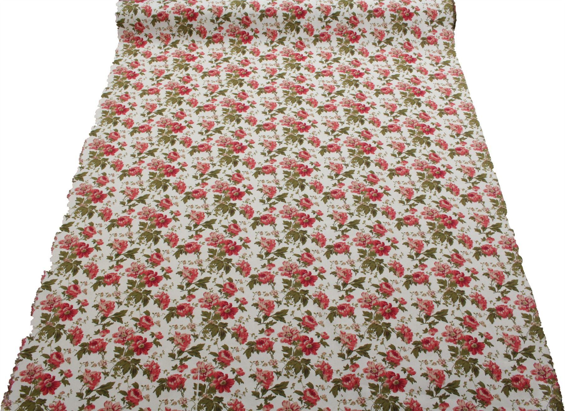 thumbnail 10 - 100% Heavy Cotton Panama Printed Childrens Curtain Cushion Upholstery Fabric