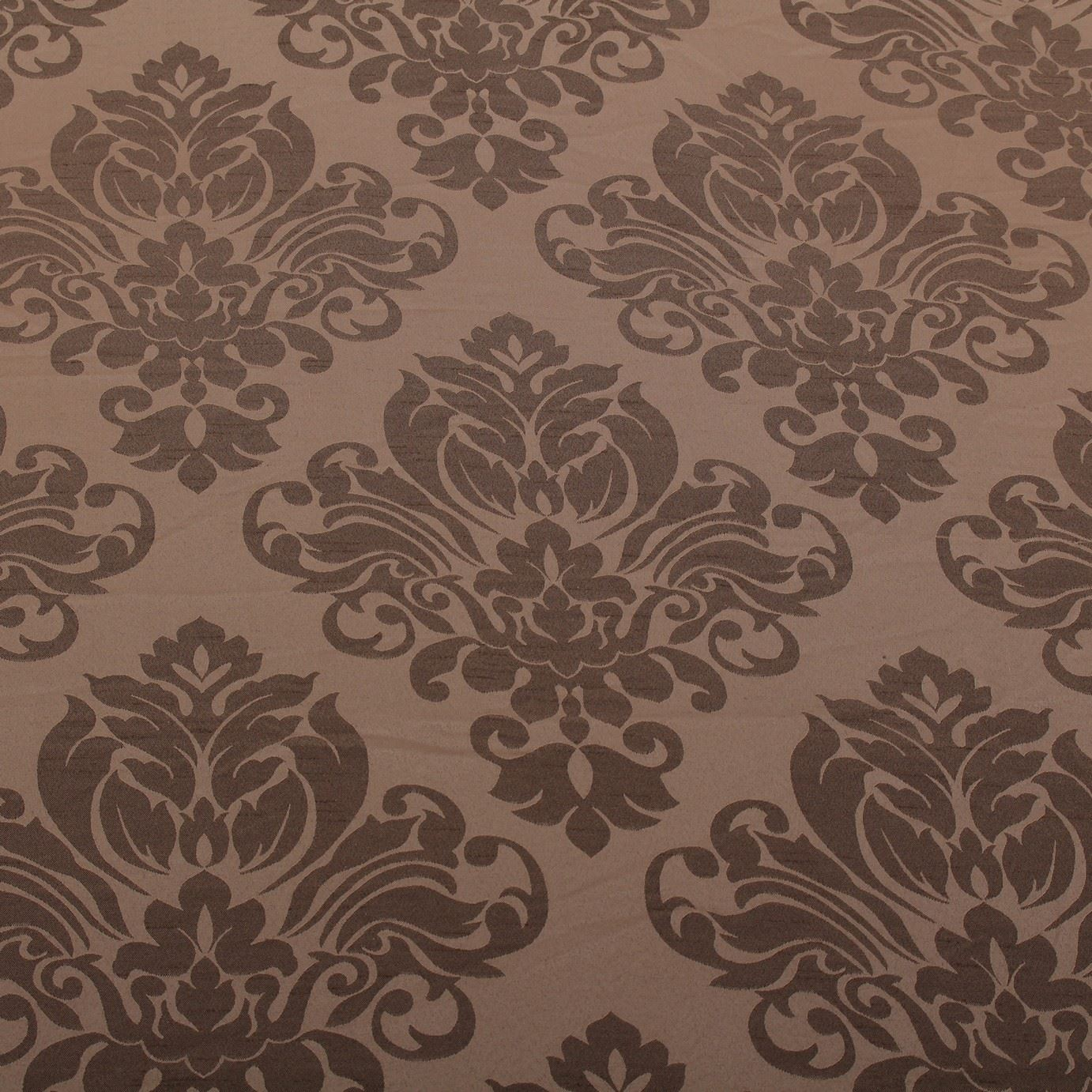 FLORAL-DAMASK-FAUX-SILK-JACQUARD-CURTAIN-UPHOLSTERY-FABRIC-MATERIAL-12-COLOURS thumbnail 7