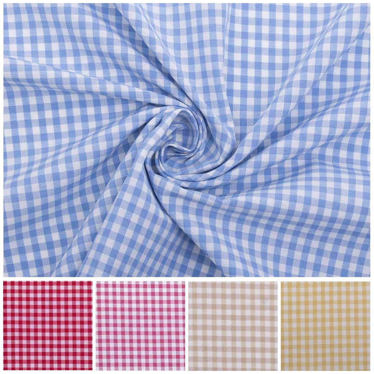 FREE Postage and Packaging. Polycotton dress fabric-Contract