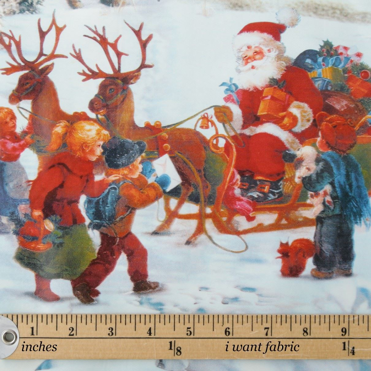thumbnail 11 - CHRISTMAS PVC OILCLOTH VINYL FABRIC XMAS KITCHEN TABLE WIPECLEAN TABLECLOTHS