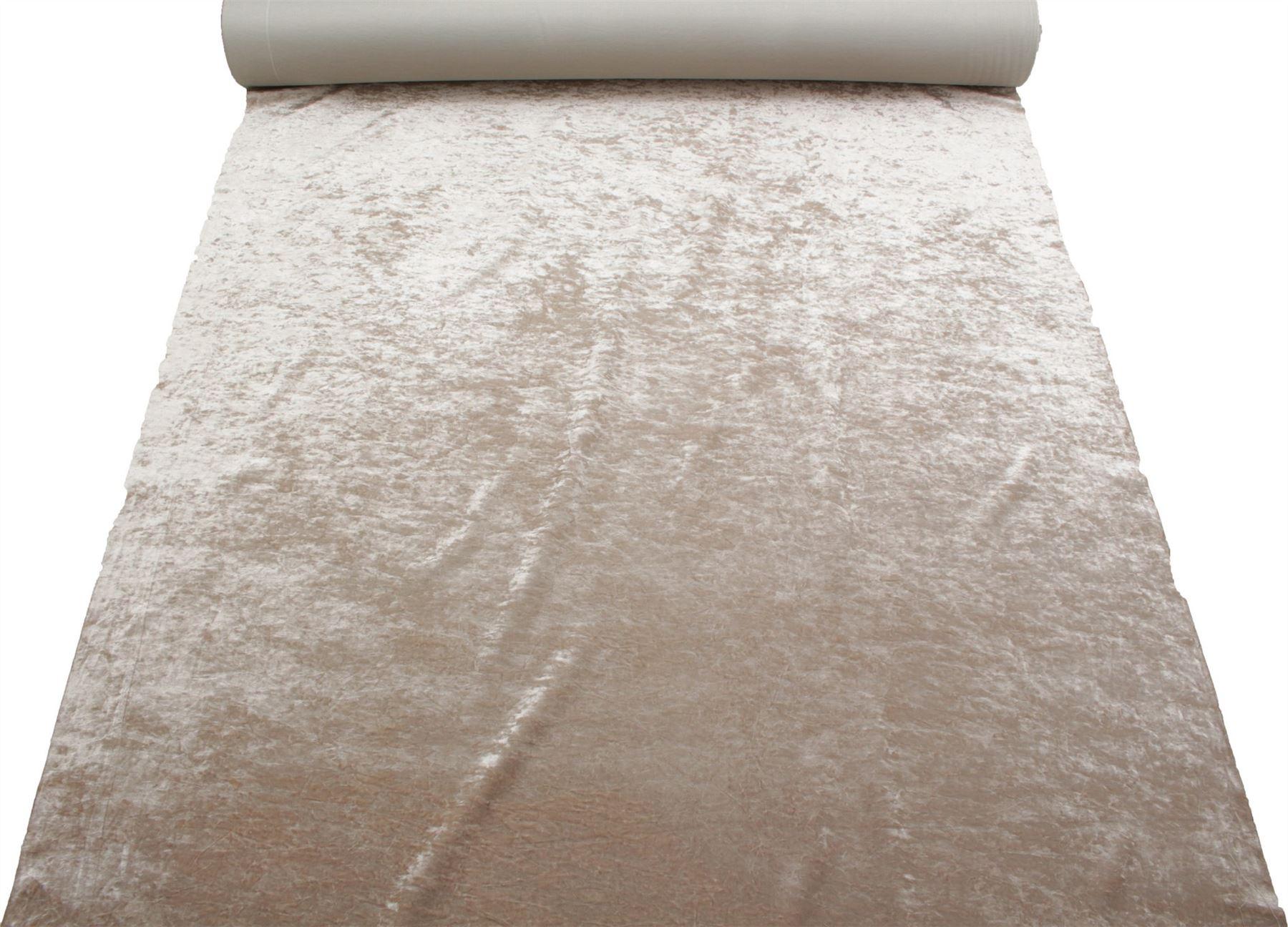 thumbnail 17 - Marble Velour Crushed Velvet Plush Soft Furnishing Curtain Cushion Fabric