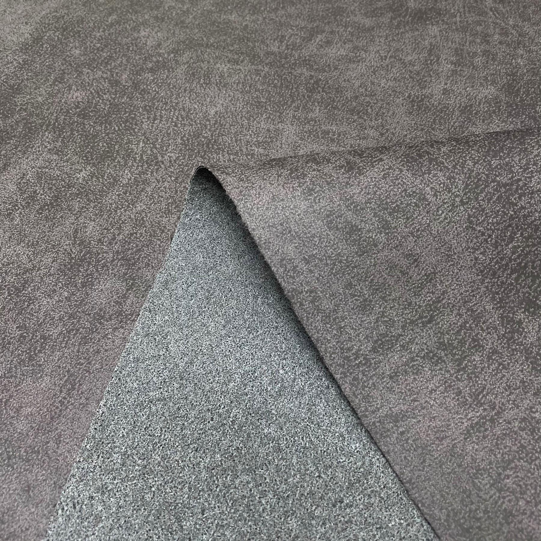 thumbnail 37 - AGED BROWN DISTRESSED ANTIQUED SUEDE FAUX LEATHER LEATHERETTE UPHOLSTERY FABRIC