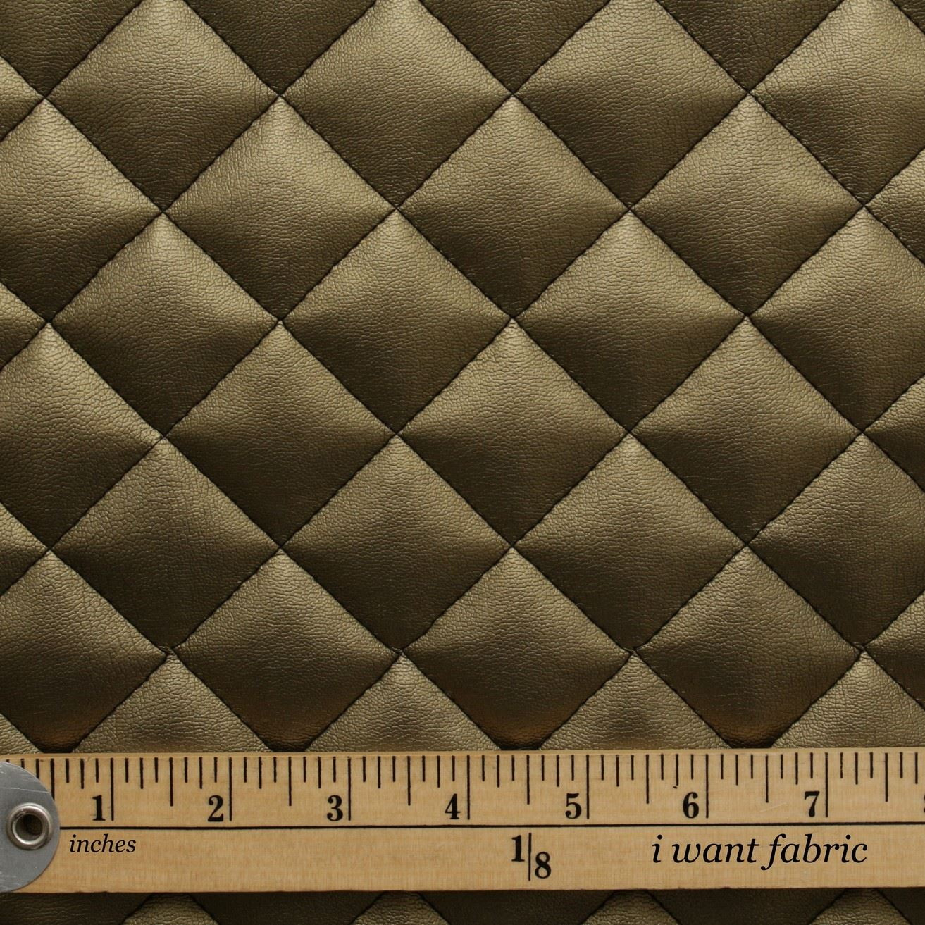 thumbnail 23 - Quilted leather Diamond Padded Cushion Faux Leather Interior Upholstery Fabric