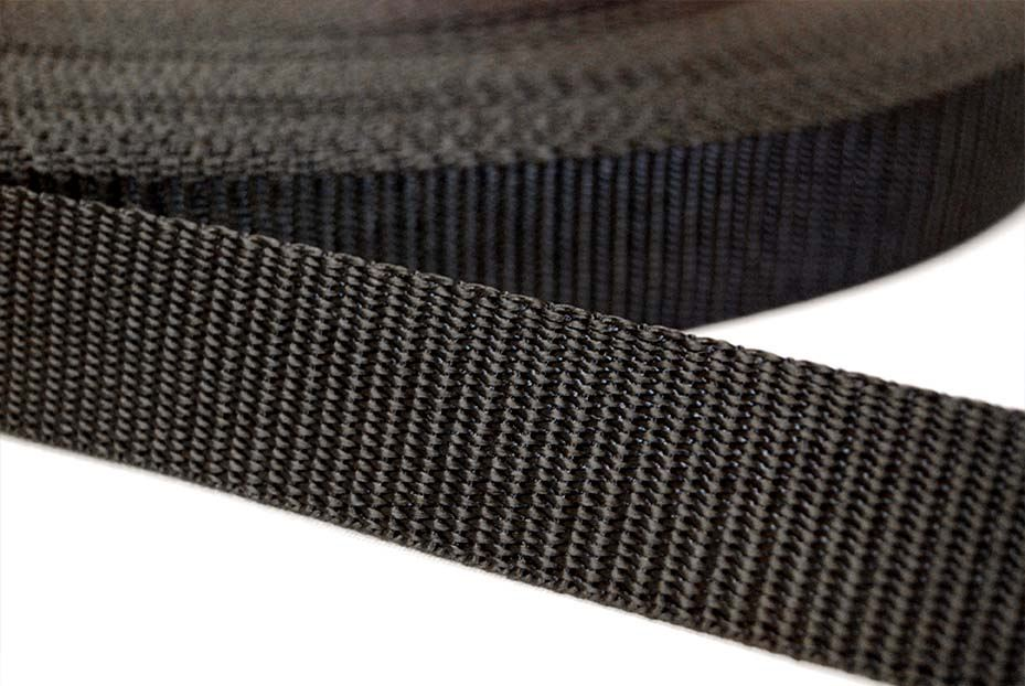 COLOURED POLYESTER UPHOLSTERY WEBBING BAG STRAP STRAPPING