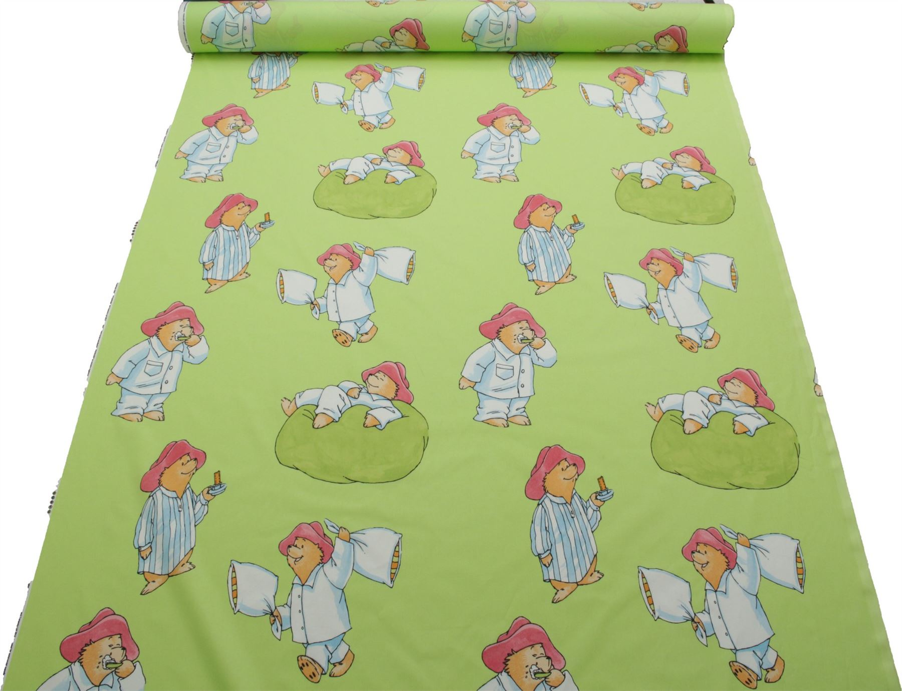 Licensed paddington bear 100 cotton print children 39 s for Children s furnishing fabrics