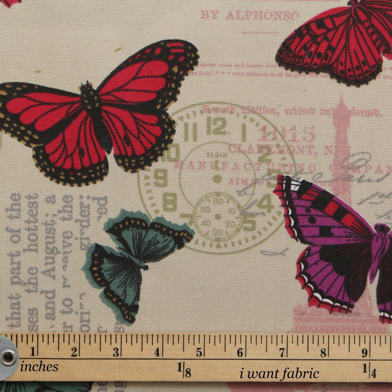 thumbnail 64 - 100% Heavy Cotton Panama Printed Childrens Curtain Cushion Upholstery Fabric