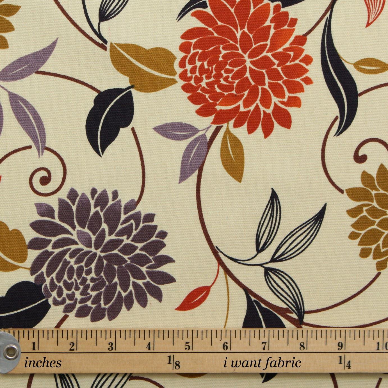 thumbnail 41 - 100% Heavy Cotton Panama Printed Childrens Curtain Cushion Upholstery Fabric