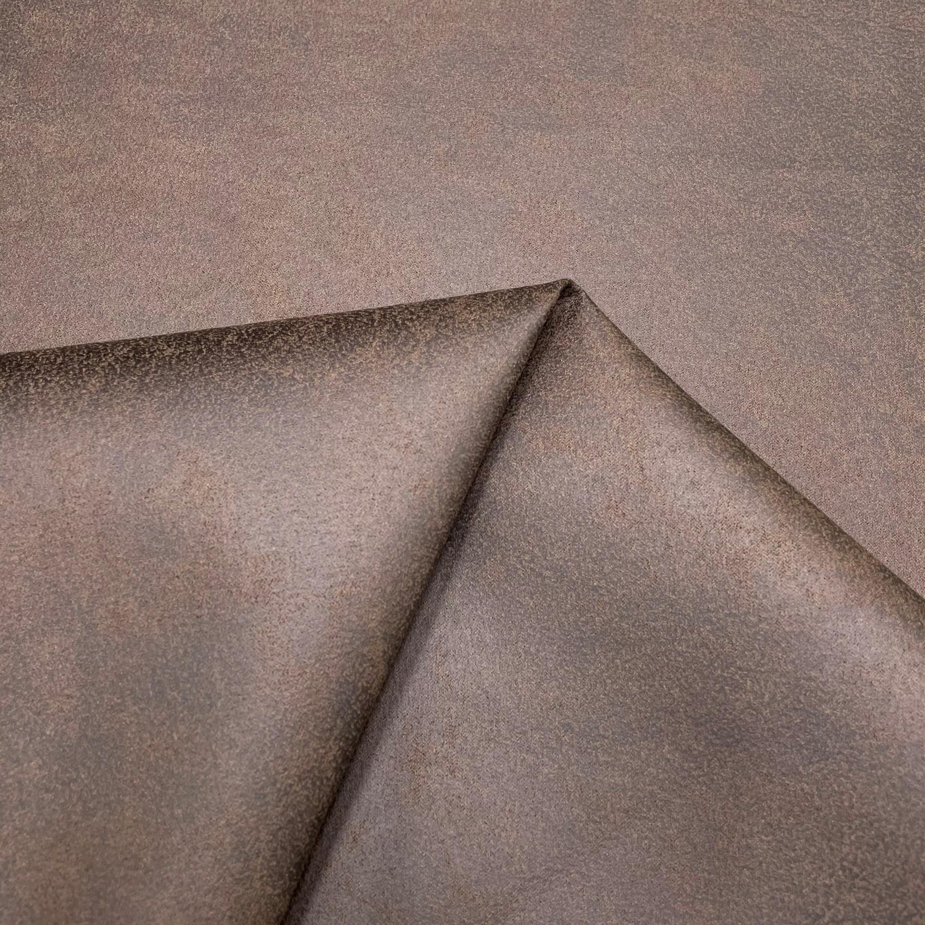thumbnail 32 - AGED BROWN DISTRESSED ANTIQUED SUEDE FAUX LEATHER LEATHERETTE UPHOLSTERY FABRIC