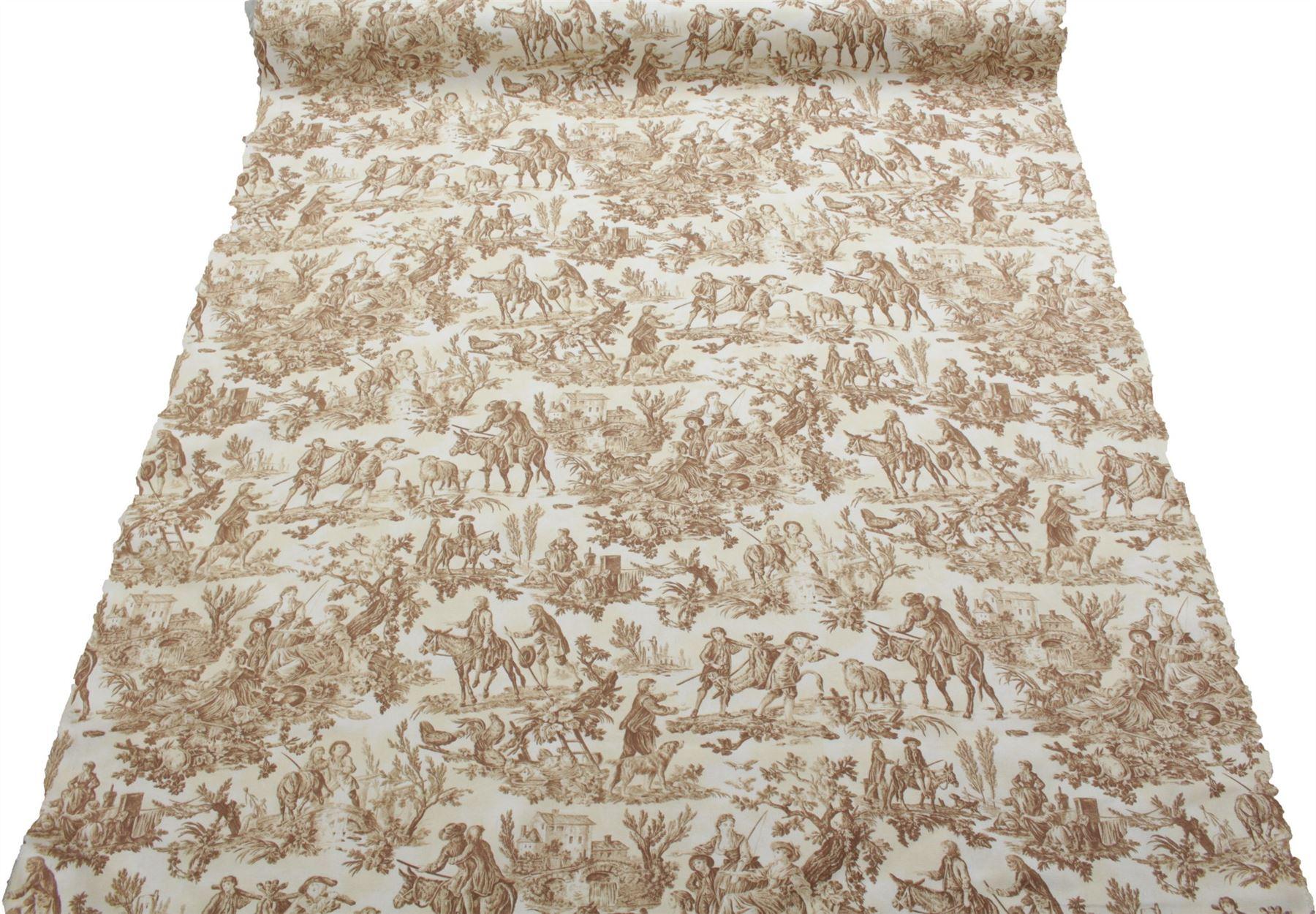 thumbnail 35 - 100% Heavy Cotton Panama Printed Childrens Curtain Cushion Upholstery Fabric