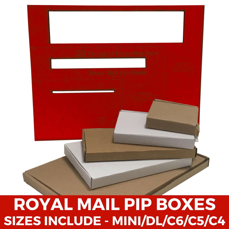 Royal Mail Large Letter Cardboard PIP Boxes Mailing Postal