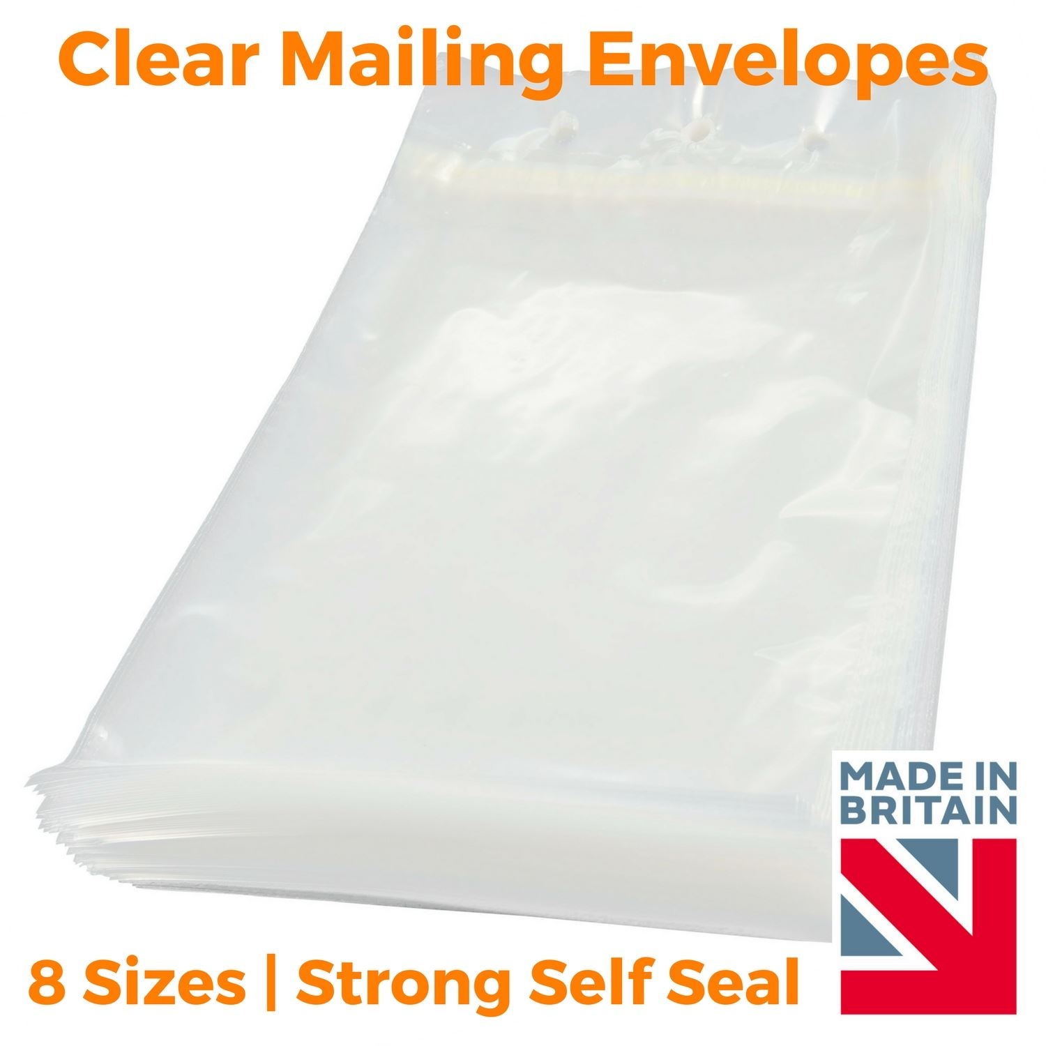 It is a graphic of Nifty Clear Mailing Seal Labels