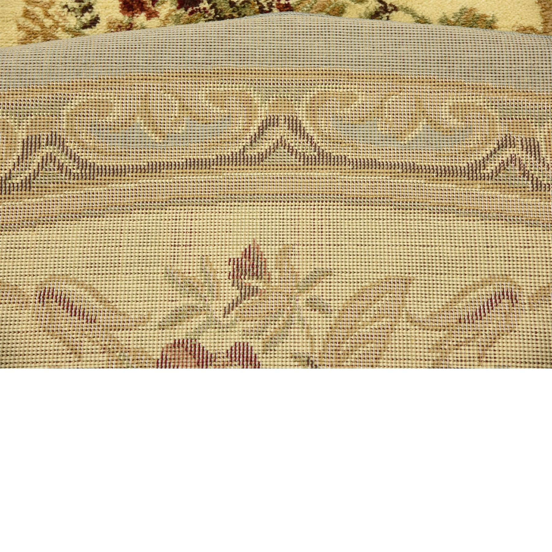 Oriental-Large-Area-Rug-Square-Traditional-Country-Round-Carpet-Medallion-Small thumbnail 39