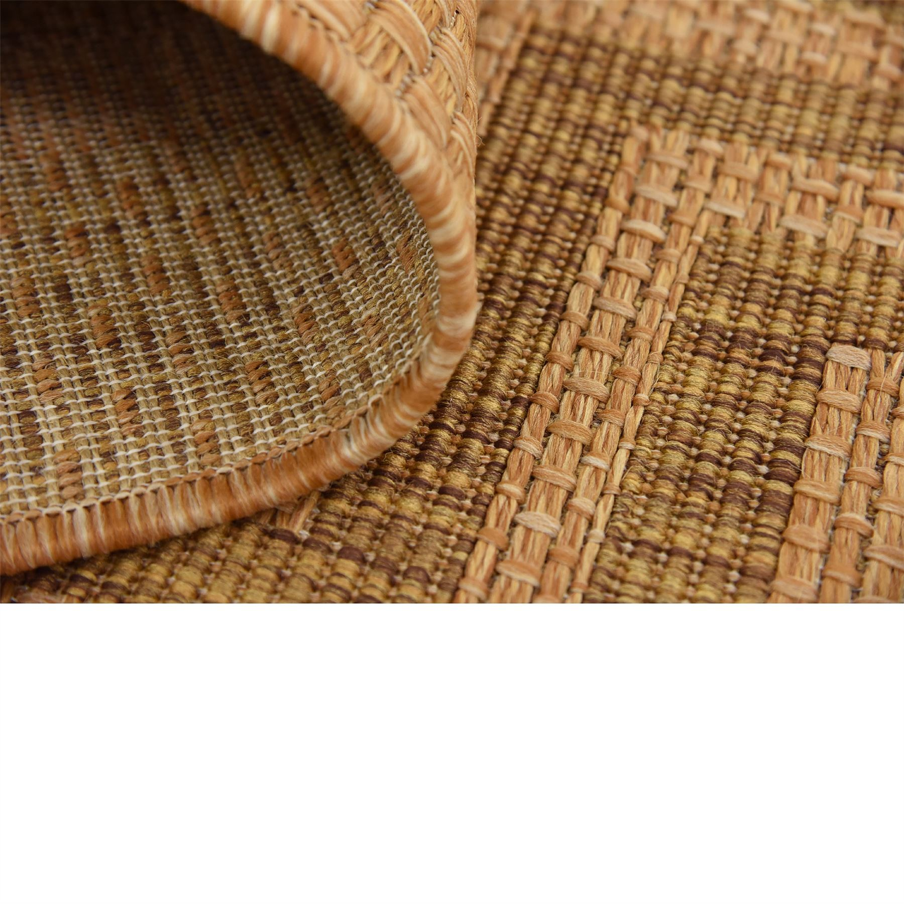 Modern-Outdoor-Thin-Area-Rug-Contemporary-Plain-Large-Small-Carpet-Gray-Brown thumbnail 21
