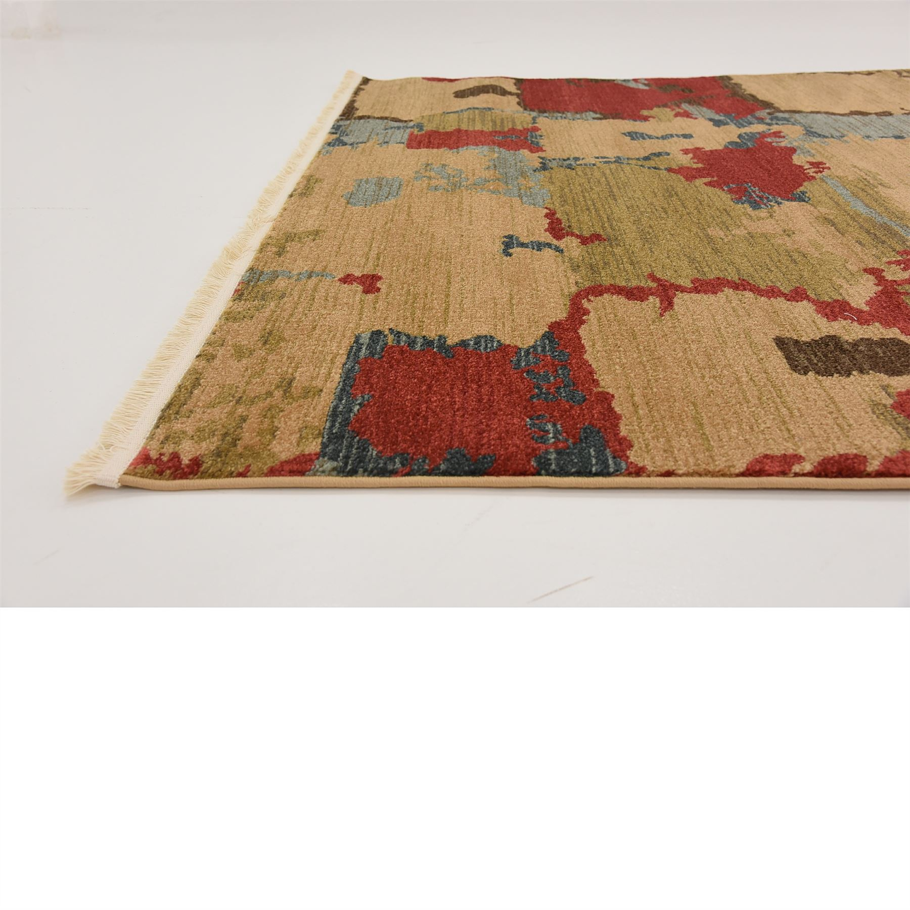 Modern design multi color area rug contemporary style for Modern design area rugs