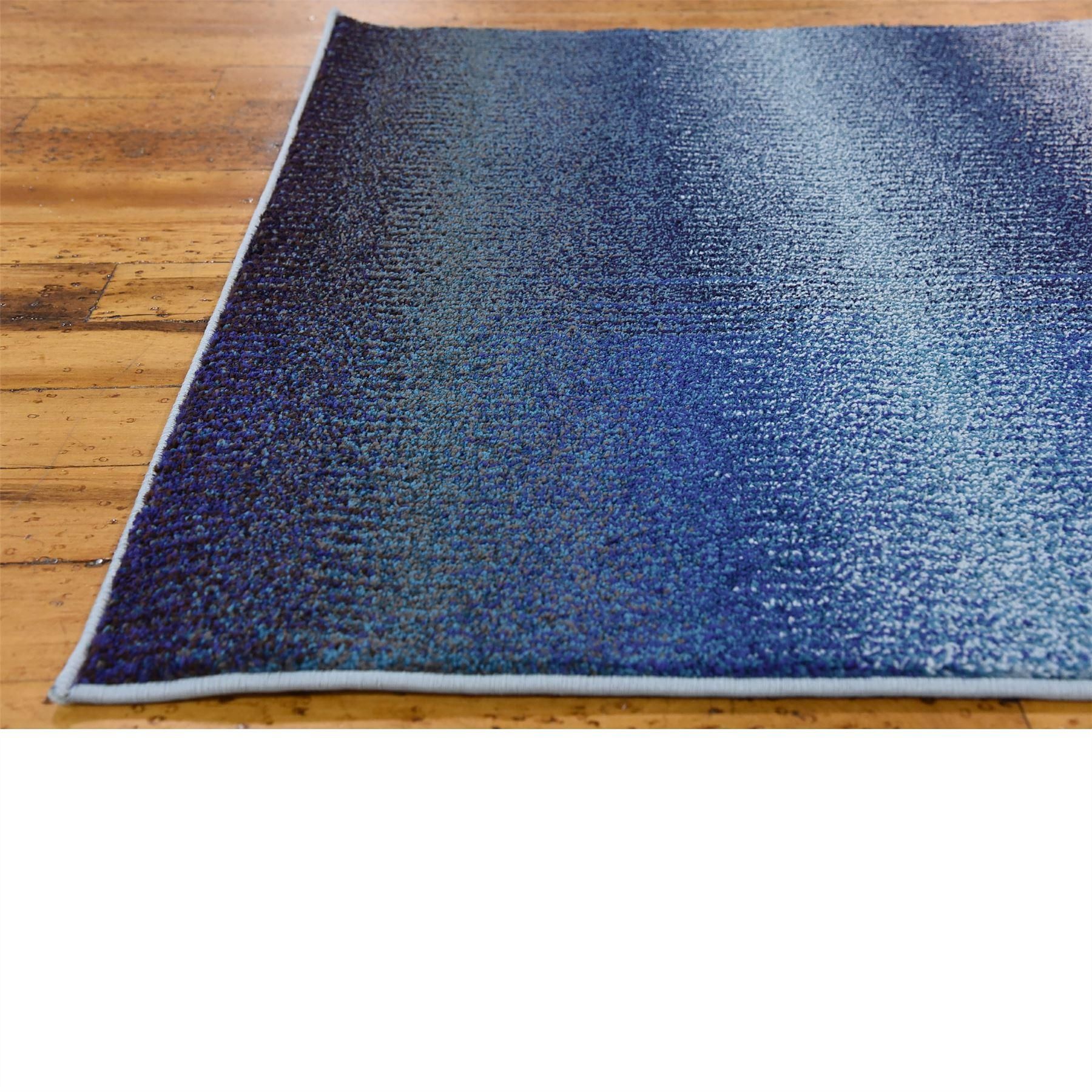 Modern Looking Rug: Modern Style Soft Blue Area Rug Contemporary Design Large