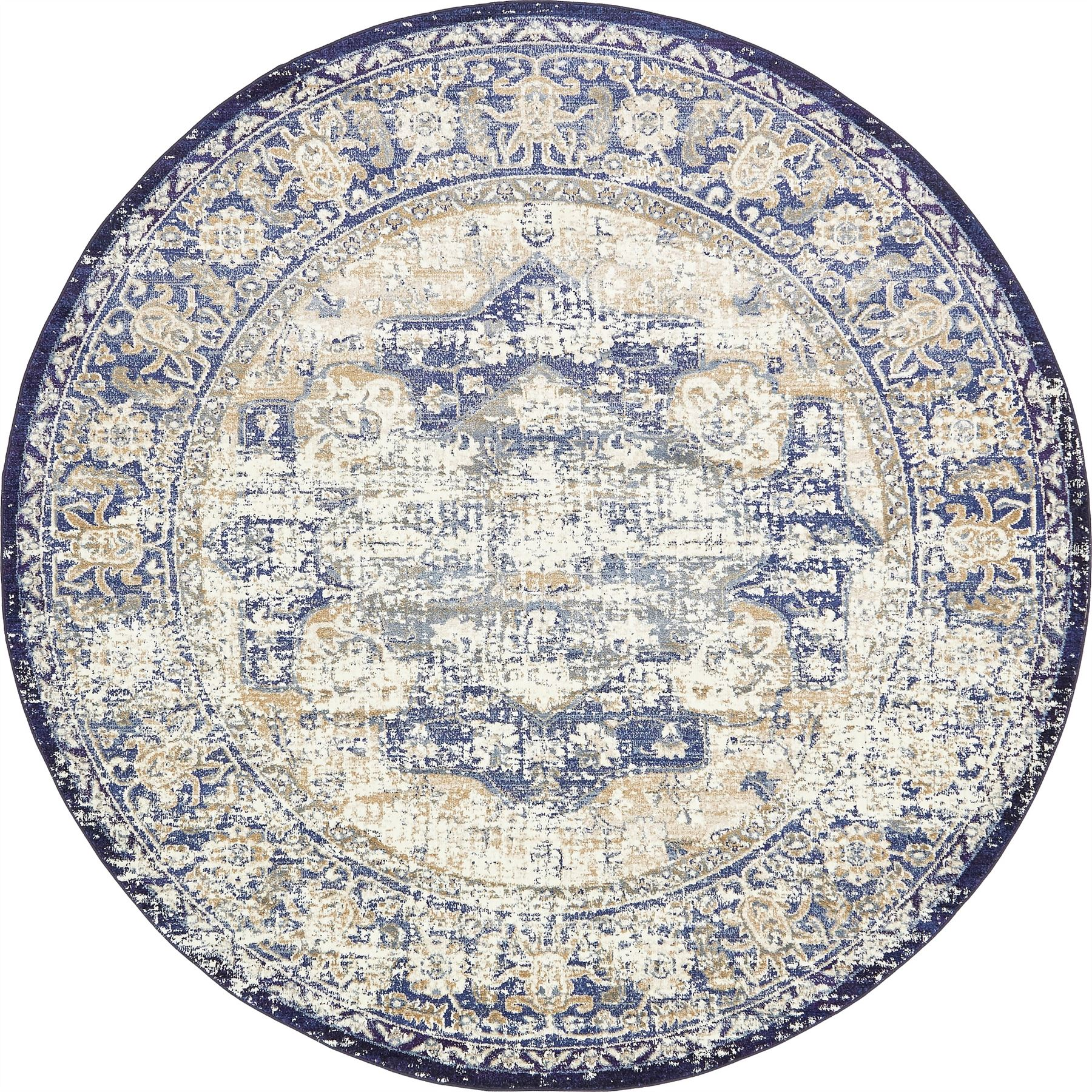 Medallion Style Rugs Traditional Carpets Over Dyed Vintage