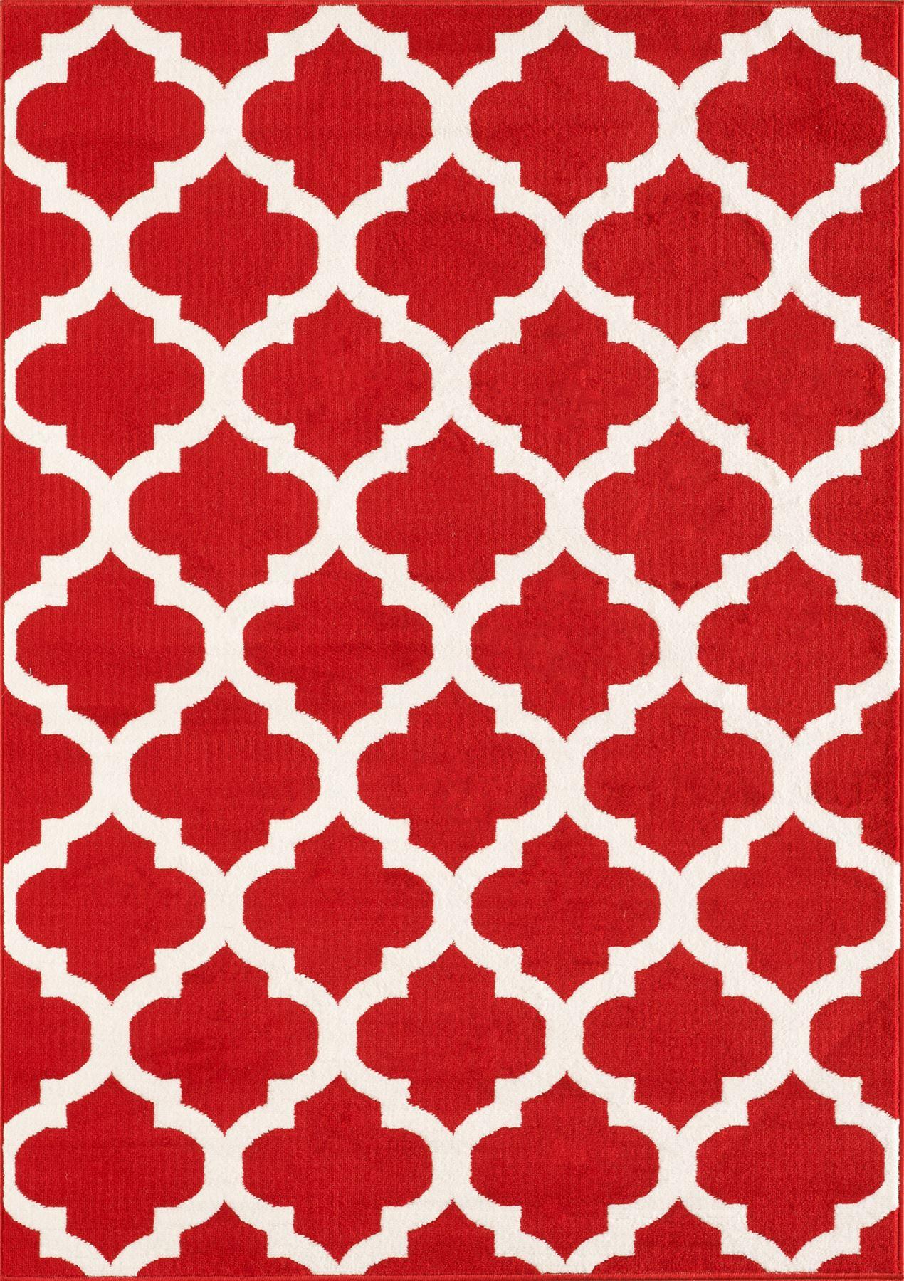 Nero-Rosso-Argento-Bianco-Viola-Moderno-Area-Tappeto-Traliccio-DESIGN-CUCINA-outdoorrug miniatura 16