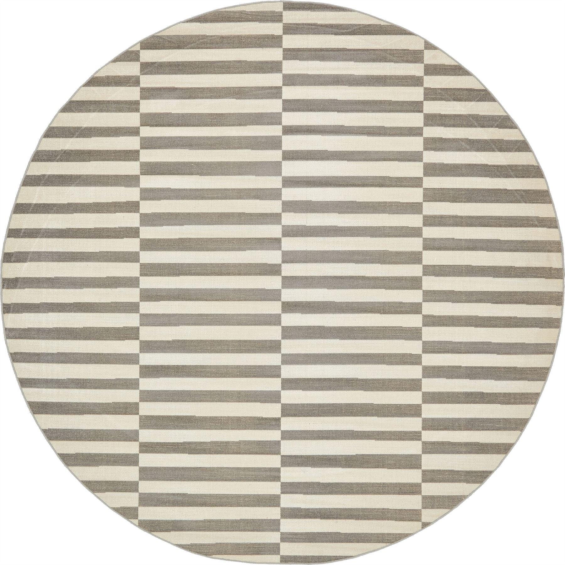 modern area rug striped contemporary large round carpet design  - modernarearugstripedcontemporarylargeroundcarpet
