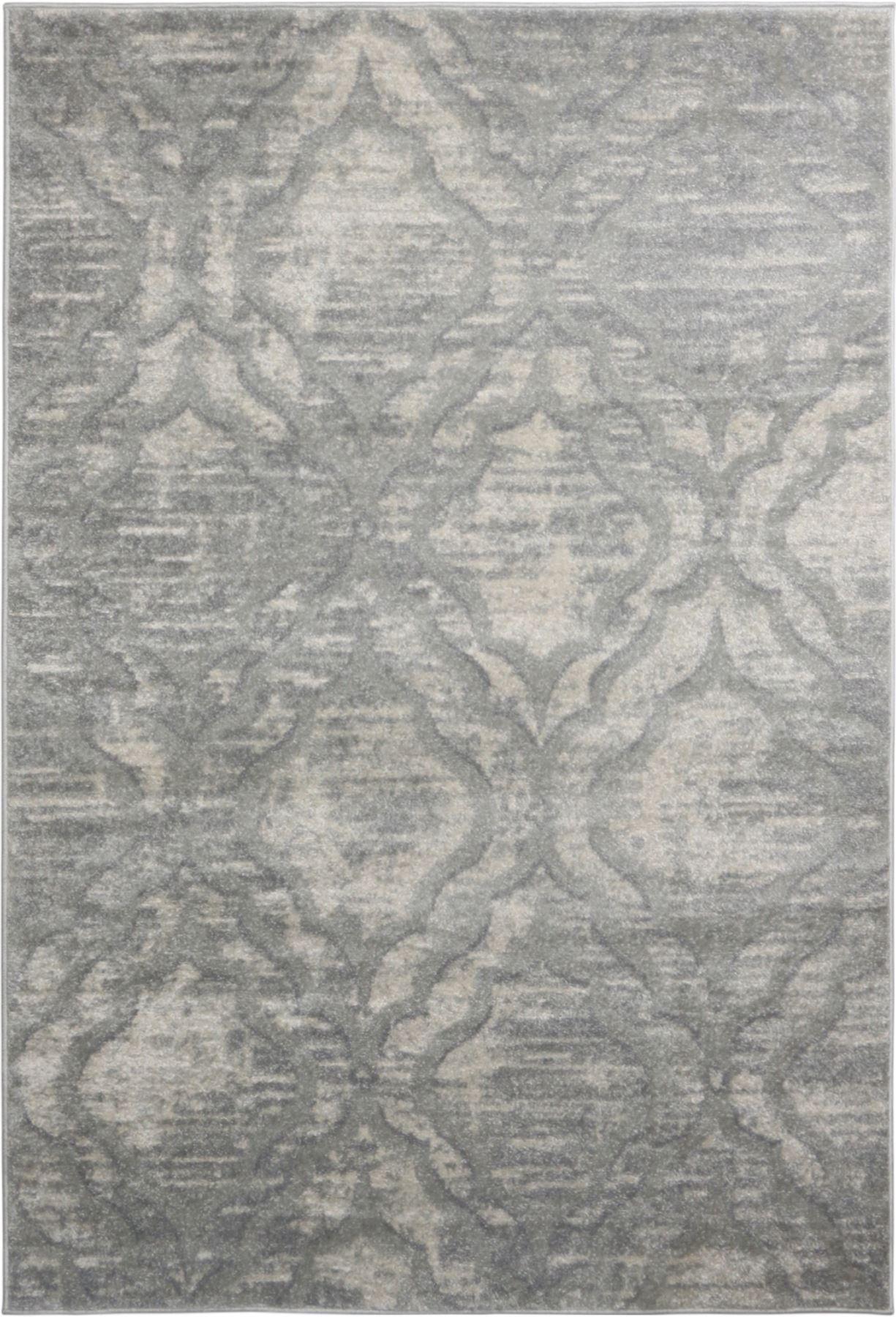 A2Z-grigio-grande-mix-di-moderni-tappeti-VINTAGE-dissolvenza-modelli-Design-Arredamento-Corridori miniatura 7