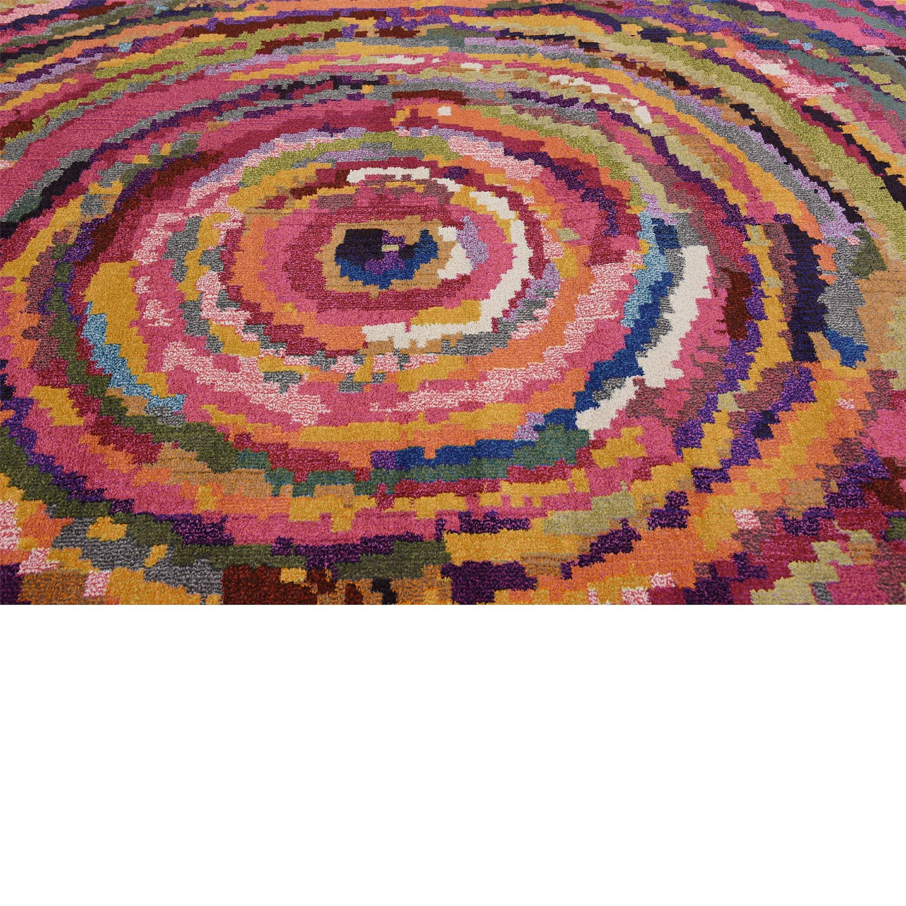 Modern Rug Soft: Multi Color Modern Area Rug Colorful Contemporary Large
