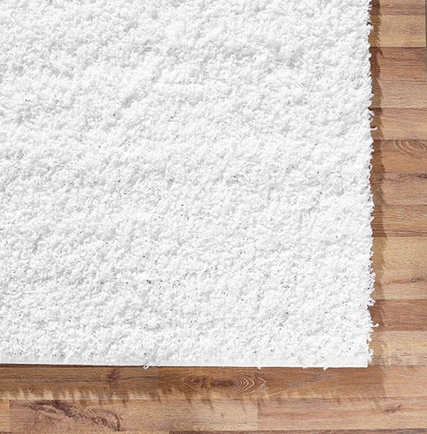Shaggy rug white soft warm carpet modern rugs contemporary for Warm rugs