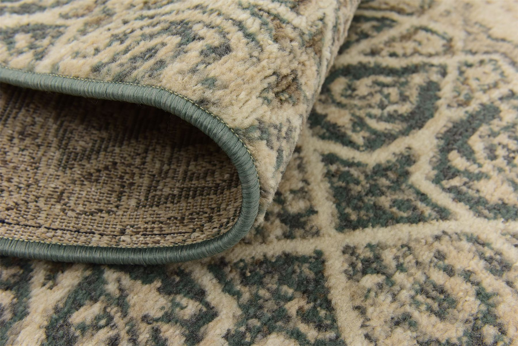 Neutral Abstract All Over Soft Luxurious Star Design Area