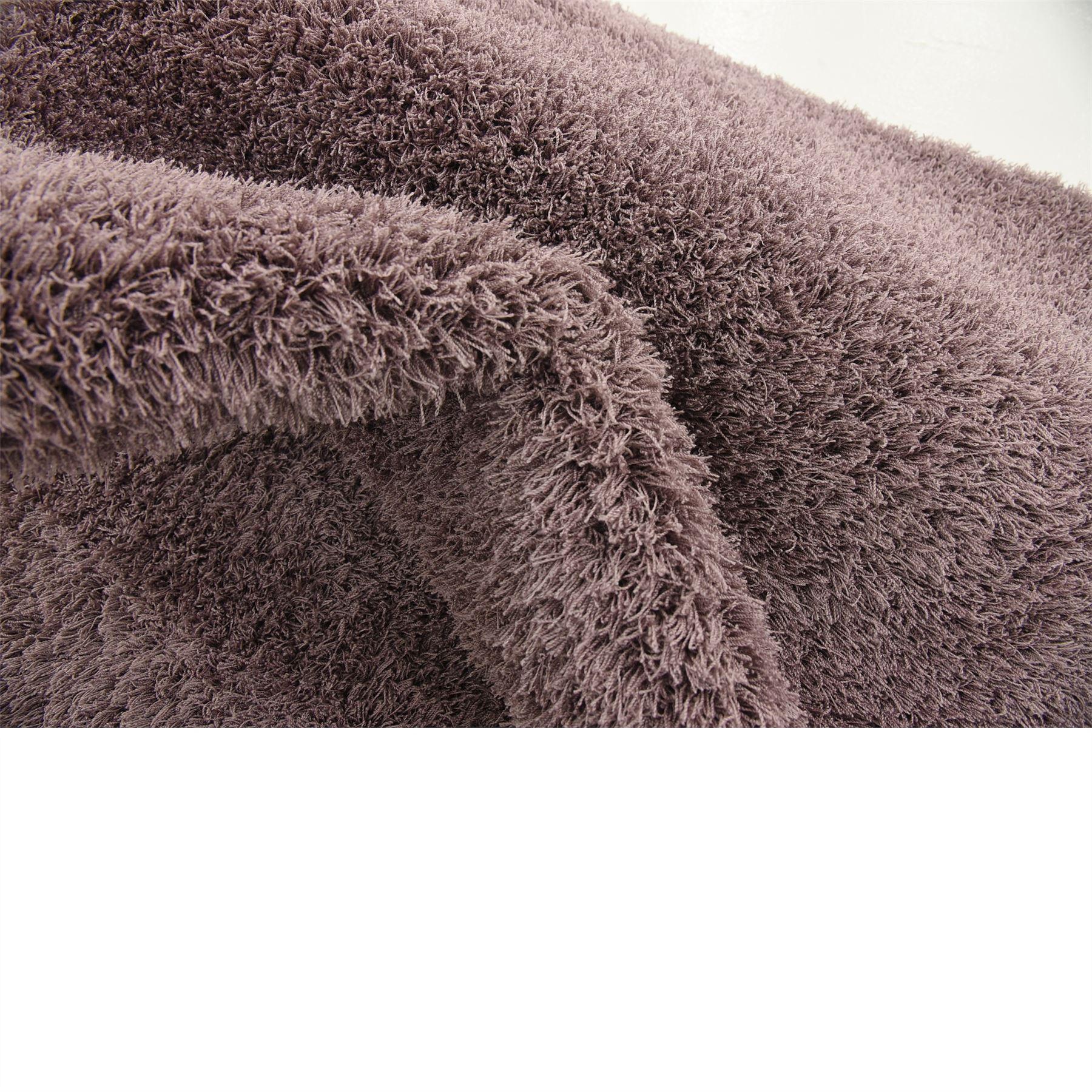 Modern Shag Carpet Solid Plush Area Rug Contemporary Large