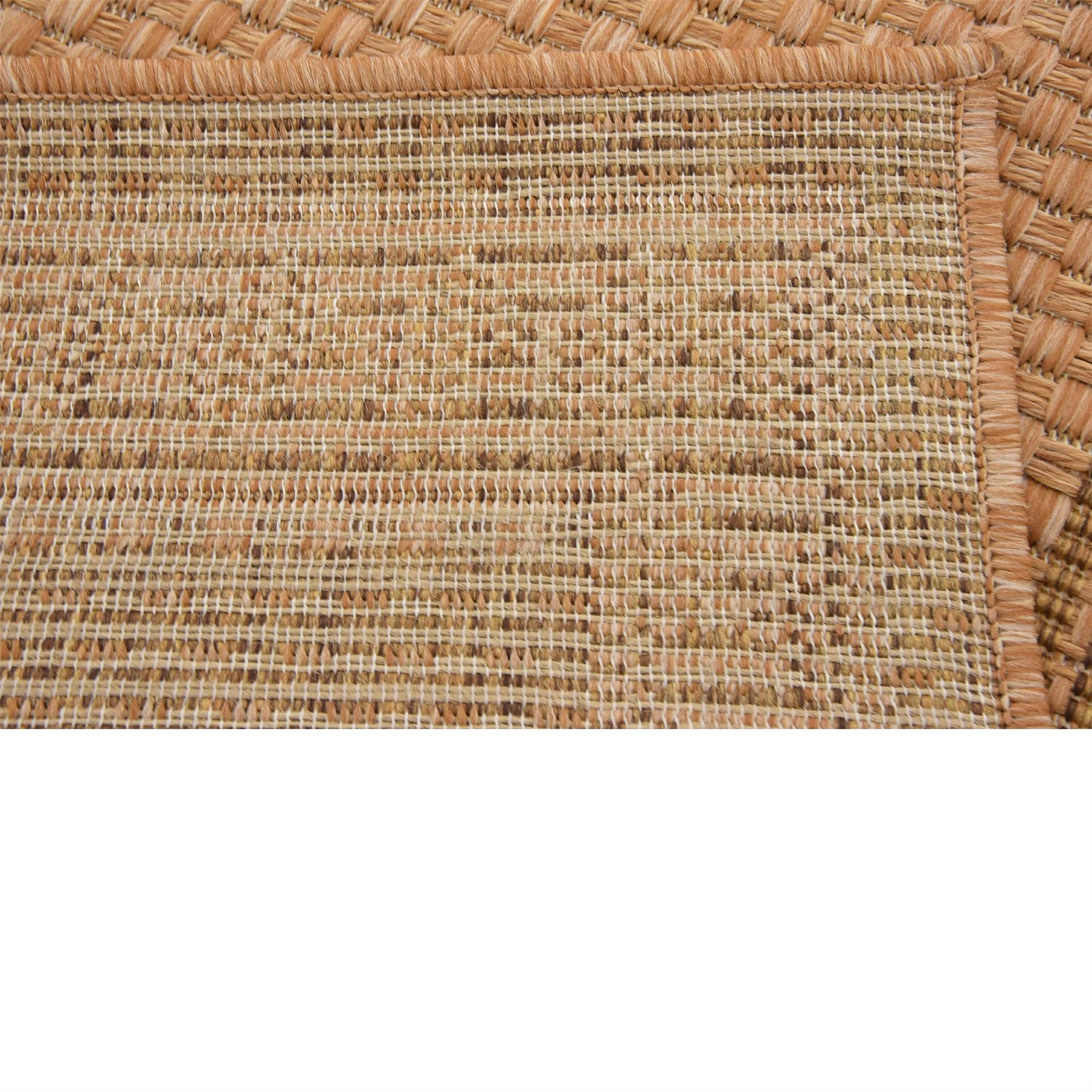 Modern-Outdoor-Thin-Area-Rug-Contemporary-Plain-Large-Small-Carpet-Gray-Brown thumbnail 25