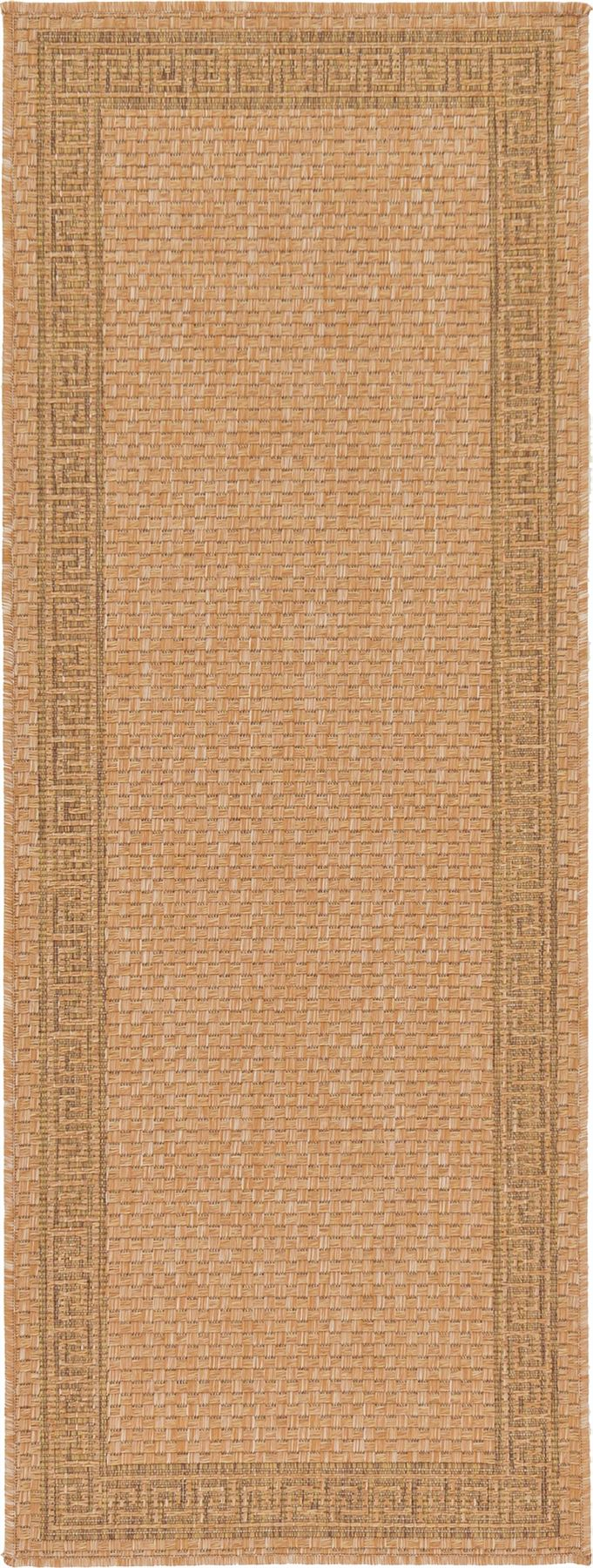 Modern-Outdoor-Thin-Area-Rug-Contemporary-Plain-Large-Small-Carpet-Gray-Brown thumbnail 20