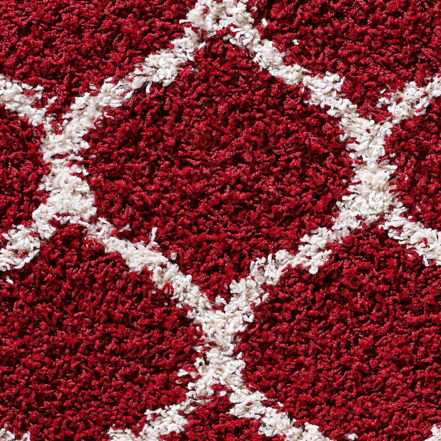 Dense-Pile-Trellis-Bedroom-Carpets-Thick-Shaggy-Rugs-Modern-Coloured-Pattern-Mat thumbnail 22