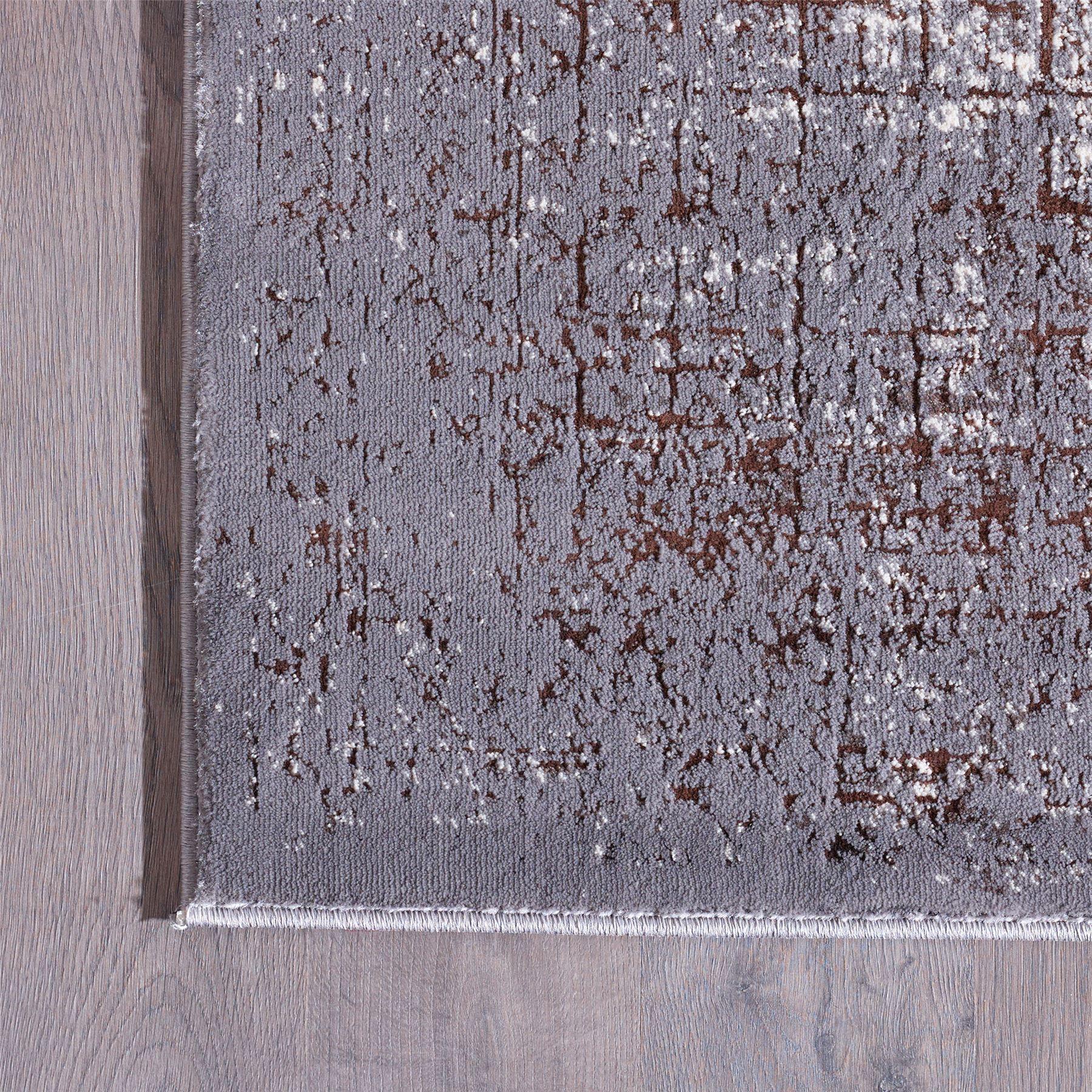A2Z-alcance-de-sombra-geometrica-comprobado-patrones-Alfombra-Vintage-Fade-Dormitorio-Alfombras-de miniatura 4