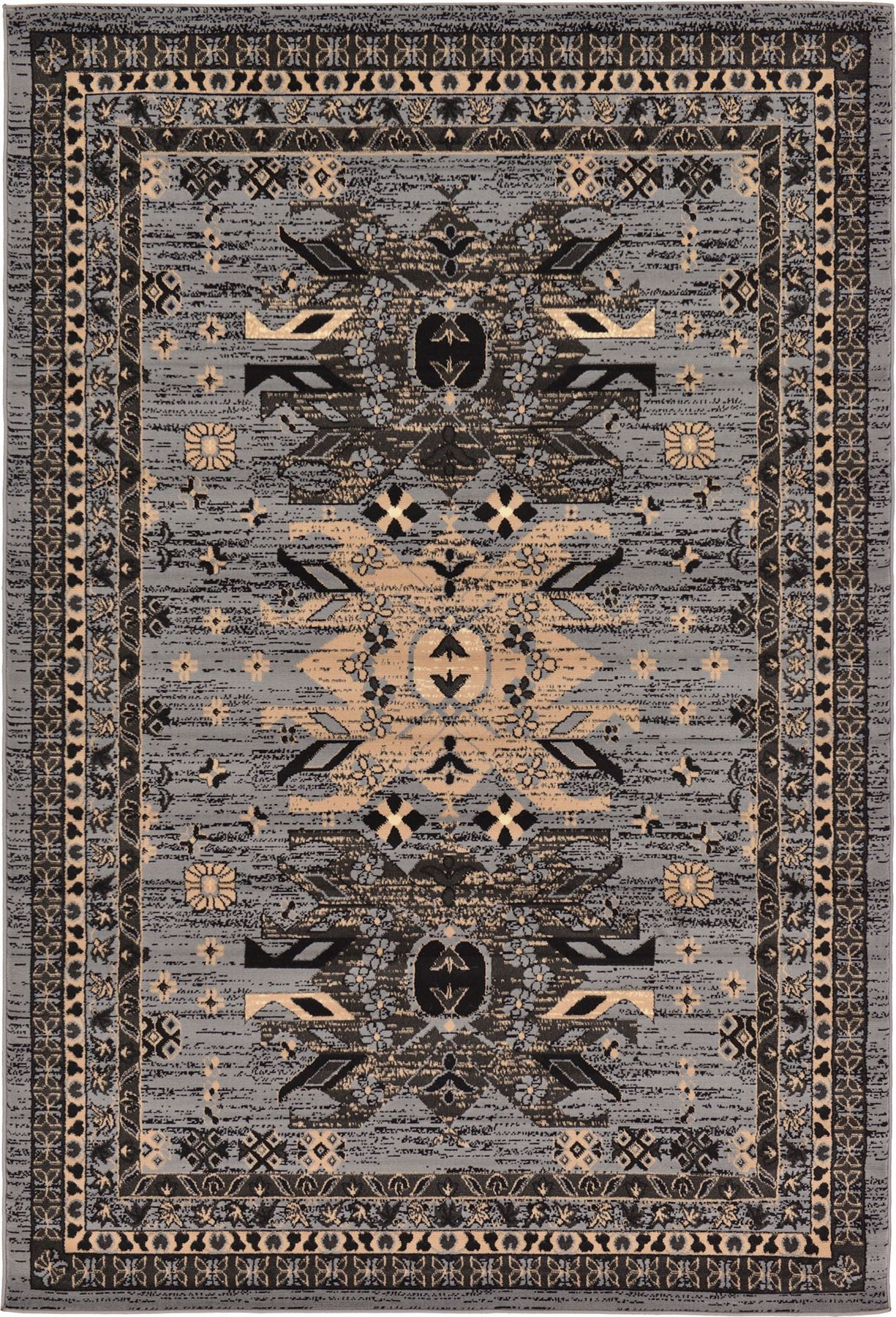 Traditional Persian Design Area Rug Oriental Soft Tribal