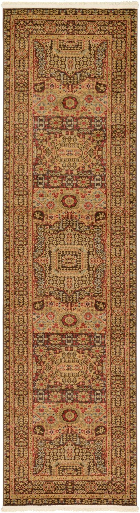 brown wool contemporary handmade rug area floral modern rugs beautiful