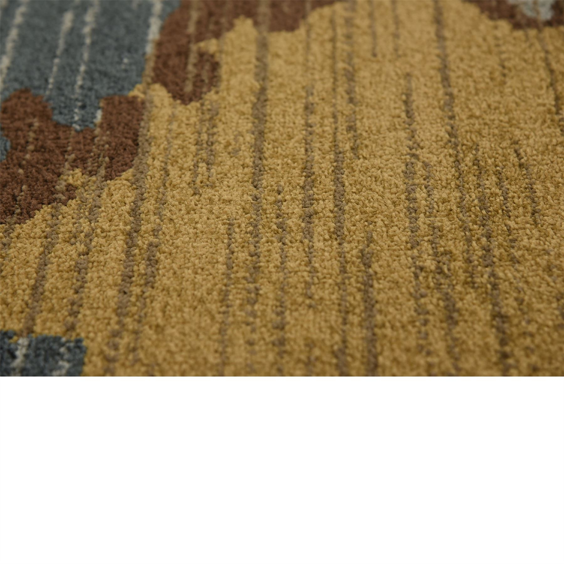 Modern Looking Rug: Modern Design Multi Color Area Rug Contemporary Style